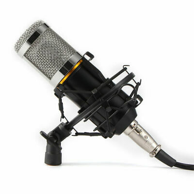 BM800 Pro Studio Condenser Microphone Kit Speaker for Broadcasting KTV Singing