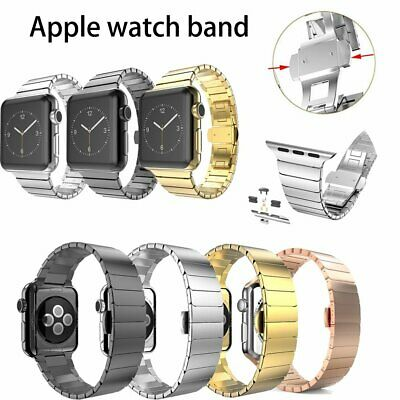 Stainless steel Strap For Apple watch series iwatch 4/3/2/1 44mm/40mm watchband