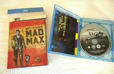 ***Mad Max Collection - Limited Ed. Petrol/Gas Tin - Blu-ray - Used***