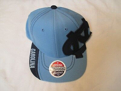 info for ff581 34c05 UNC North Carolina Tar Heels Zephyr Snapback cap hat Salesman Sample NWT New