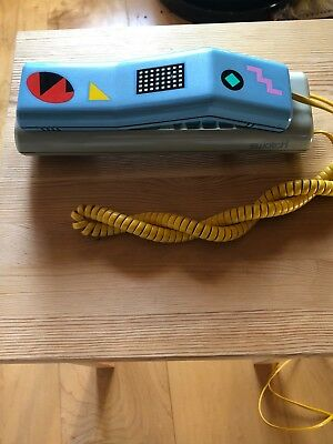 Beautiful vintage SWATCH phone, about 1989, very good condition, 80s desig, cord