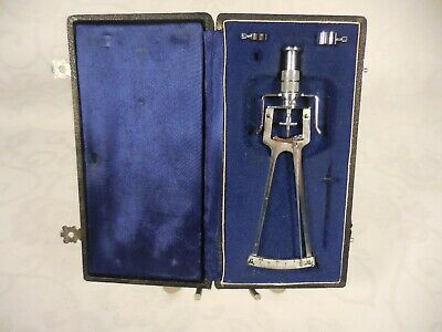 Vintage Schioetz Tonometer for measuring intraocular pressure Circa 1966