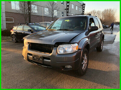 2003 Ford Escape XLT 03 Used Ford Escape XLT 3L V6 24V Automatic 4X4 SUV Grey No Reserve