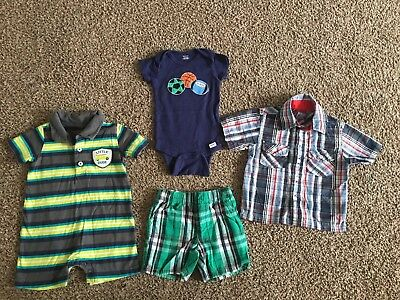 4 Pc. Lot Baby Boy Size 12 Months Clothes