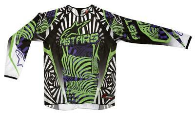Alpinestars Charger Jersey Top Shirt VIO/BLK sL Motocross Mx Quad Offroad