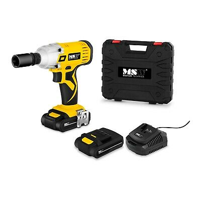 Cordless Impact Driver Electric Drill Screwdriver 18V Lithium Ion Battery 240 Nm