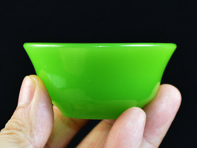 Collection Bowl In Jade China 19th Fine China Bowl chinese Green jade