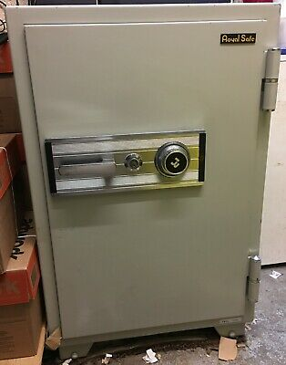 Royal Fireproof Data Safe, Key and Dial Security