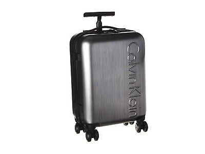 """NEW Calvin Klein Southampton 2.0 20"""" Hardside Spinner Suitcase QC111"""