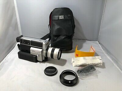 Canon Auto Zoom 814 Electronic Super 8mm Film Camera Untested Excellent Condit