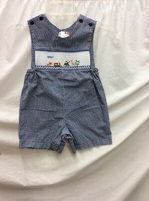 Euc! Sir John  Size 3T Boys Clothing, Blue And White In Color