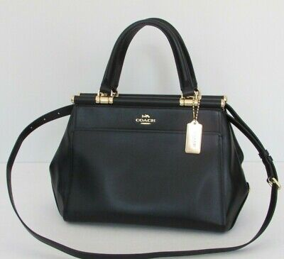 NEW COACH GRACE Bag Black Leather Handbag 31916 -  185.00  b3d3c66c0b5bc