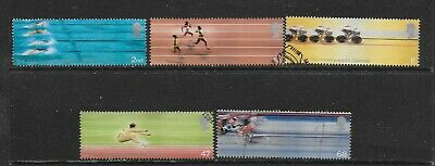 1) GB Stamps 2002 Commonwealth Games.  Good Used Set.