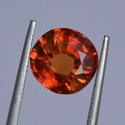 Certified Copper Bearing Oregon Sunstone 4.85 Ct. Round For Ring Loose Gemstone