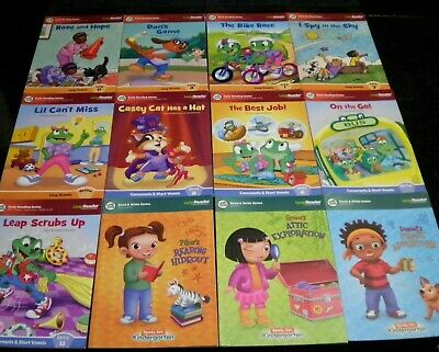 Leap Frog Leap Reader Lot of 12 Books