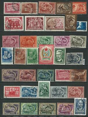 #8653 HUNGARY Lot of CTO & Used Stamps Combine Shipping