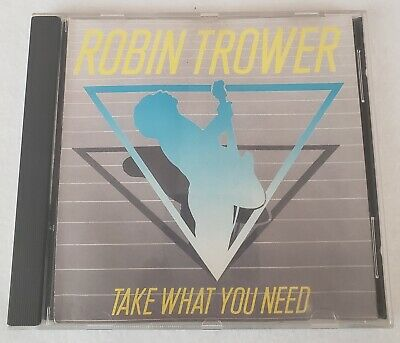 Robin Trower - Take What You Need (CD, 1988, U.S.A. Atlantic Issue)