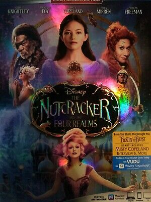 Disney The Nutcracker and The Four Realms No Blu-ray or DVD Digital Code only