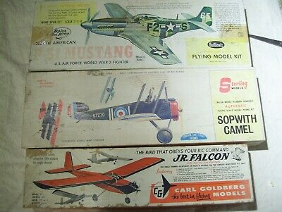 LOT OF 4 Model Airplane Kits