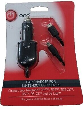 Nintendo New 3DS XL DSi Lite Universal Console Car Charger System Travel Adapter