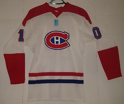 Vintage Montreal Canadiens Guy Lafleur Jersey White Mens Medium 70s GUC NHL