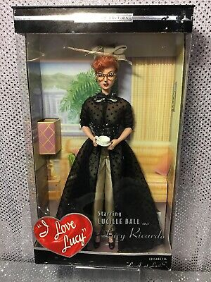 I Love Lucy Barbie Doll Episode 114 La At Last 2002 Collector Edition B1078 Nrfb