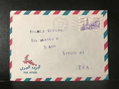 1987 Algeria Air Mail Cover to Berlin, Germany - ref201