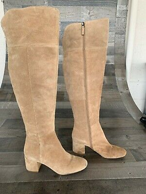 5e66dfe2858 FRANCO SARTO BRINDLEY Over the Knee Boots - Women s size 9M ...