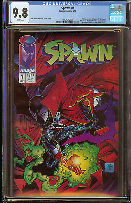 Spawn #1 (CGC 9.8 White) 1st Appearance 1992 Image Comics Todd McFarlane