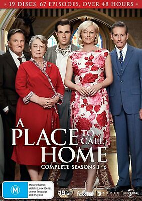 A Place to Call Home Complete Series 1 to Six Box Set DVD Region 4 NEW