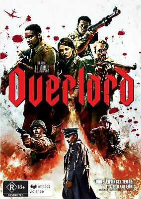 Overlord DVD Region 4 NEW // PRE-ORDER for 13/03/2019