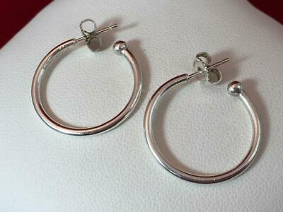 James Avery Retired Sterling Silver Classic Hoop Earrings 79 99 Picclick