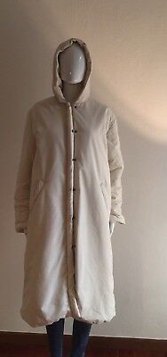 CONTE OF FLORENCE Piumino Giubbotto Size XL Donna Woman Bianco Coat White 6d1d2b6d032