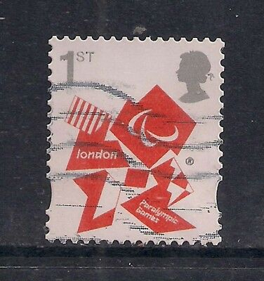 GB 2012 QE2 1st London Olympic Paralympic Games Emblem  SG 3250 ( M594 )