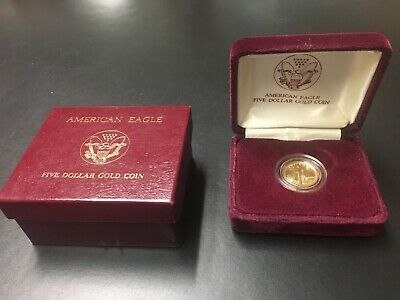 1990 American Eagle Five Dollar Gold Coin