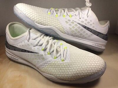 b2afa8166984 Nike Zoom PhantomX 3 Pro IC indoor soccer cleats size 10 white volt AJ3804 -107