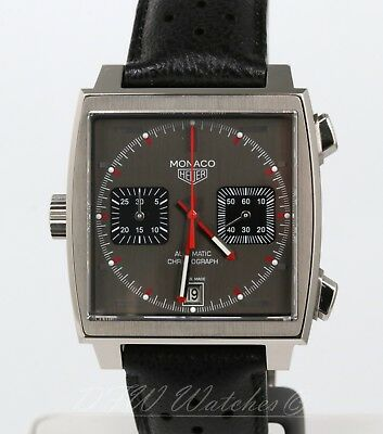 TAG Heuer Monaco Limited Edition CAW211B Slate Square Boxes Papers
