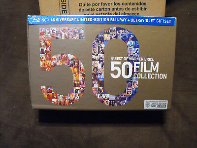 Best of Warner Bros - 50 Film Collection (Blu-ray Disc, 2013, 52-Disc Set) - NEW