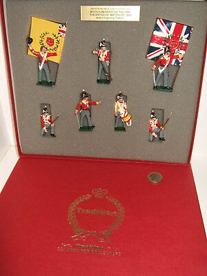 Tradition Soldier Set 706 British Infantry of the Line at Waterloo 1815 in 54mm