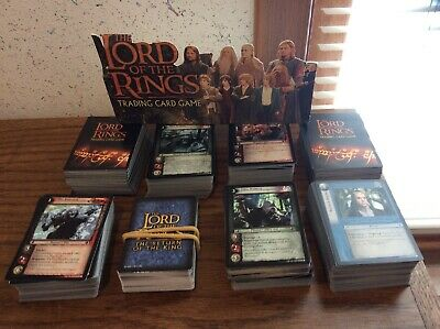 Lord Of The Rings Trading Card Game Lot Of 750+ Common Cards