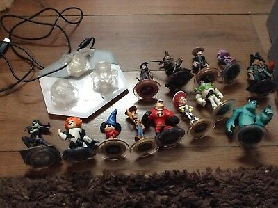 Job Lot Of Disney Infinity 1.0 Compatible With 3.0