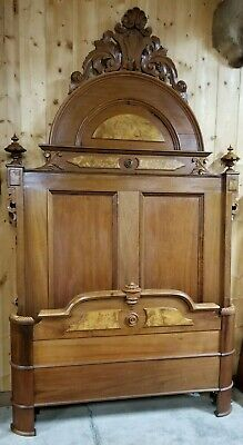 "WONDERFUL 1870's VICTORIAN BED 106"" TALL,64"" WIDE"