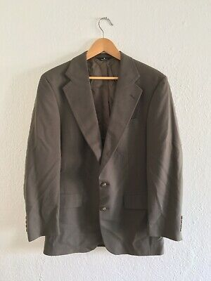 Ralph Lauren Polo usa Brown 38 Medium M 80s vintage vtg blazer 90s prep
