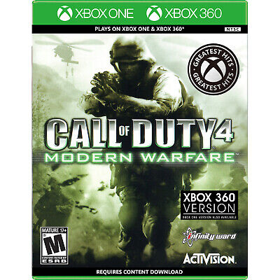 Call of Duty 4: Modern Warfare (Backwards Compatible) Xbox 360 [Brand New]