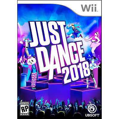 Just Dance 2018 Wii [Brand New]