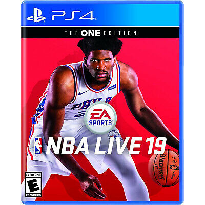 NBA Live 19 PS4 [Brand New]