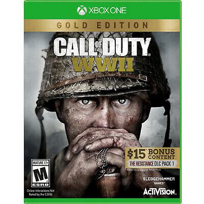 Call of Duty: WWII - Gold Edition Xbox One [Brand New]
