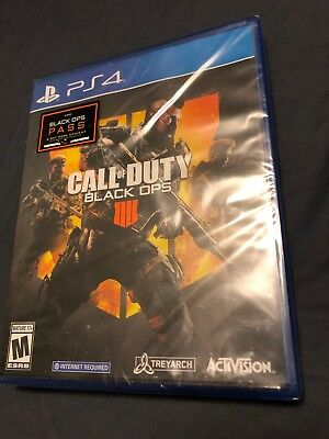 Call of Duty: Black Ops 4 (Sony PlayStation 4, 2018) (BRAND NEW SEALED)