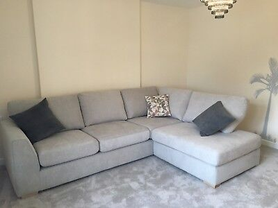 huge selection of 10958 7134b DFS LEFT ARM Facing Eleanor/TIKI Quilted Corner Sofa RRP:£1,300!!!