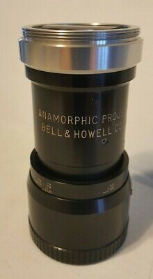 BELL & HOWELL ANAMORPHIC 16mm PROJECTOR LENS  SUPER RARE